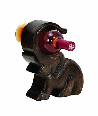 NEW!! Benzara Design Wood Wine Holder with Great Finesse For Home Decor