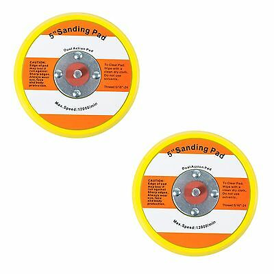 "TGR 2 Pack - 5"" Hook and Loop Sanding Pad 5/16""-24"