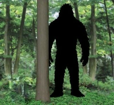 "NEW Handmade Lawn Art Yard Shadow Silhouette - Bigfoot Sasquatch Yeti 95"" x 46"""
