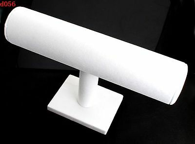 white velvet Products holder DIY for bracelet displayer case d056 ONE