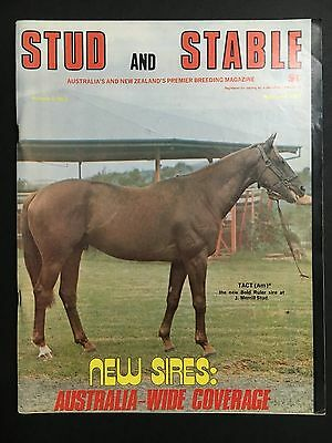 Stud & Stable Race Horse Magazine May/june 1975