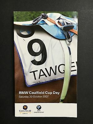 Race Book 2007 Caulfield Cup Meeting