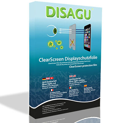 2xDISAGU ClearScreen screen protection film for Blackmagic Audio Monitor