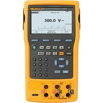Fluke 754 Documenting Process Calibrator With Hart Mfg 2017 New In Box