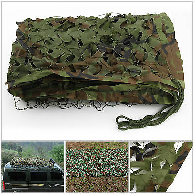 Jungle Filet de Camouflage net 2mx1.5m Chasse Camping militaire Forêt hide