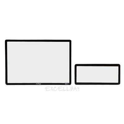 FOTGA LCD Hard Optical Glass Screen Protector Guard For Canon 5D Mark III E0Xc