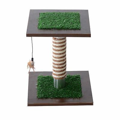 Cat Tree Pet Furniture  Scratching Post Kitty Sleeping Kitten Toy Tower