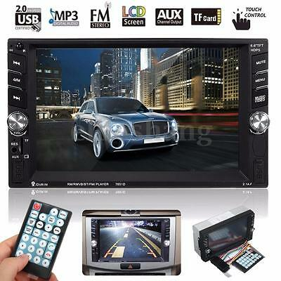 6.6'' 2 DIN STEREO AUTORADIO BLUETOOTH TOUCH SCREEN MP3 MP5 FM Player USB/TF/AUX