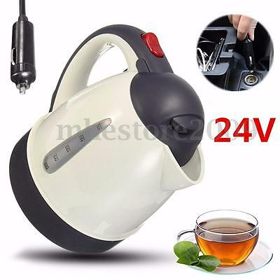 1000ml 24V Vehicle Car Auto Water Heater Portable Travel Mains Kettle Tea Coffee