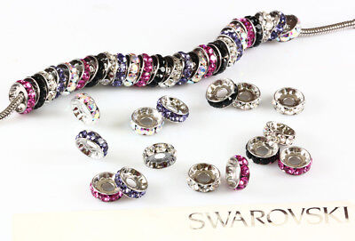 Genuine SWAROVSKI 77512 12mm Rondelle with 1088 Crystals Single Stone Setting