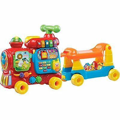 VTech Baby Push & Ride Alphabet Train 4-in-1 Toddler Kids Children Play Walker