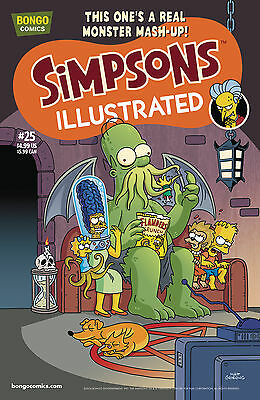 SIMPSONS ILLUSTRATED #25 (Bongo 2016 1st Print) COMIC