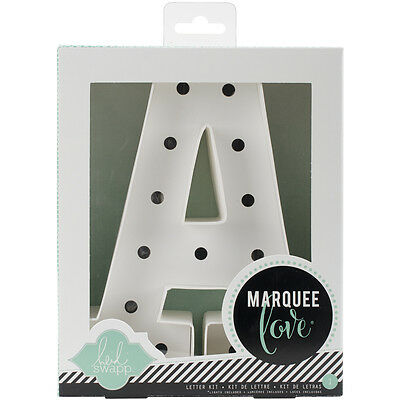 """""""Heidi Swapp Marquee Love Letters, Numbers & Shapes 8.5""""""""-A"""""""