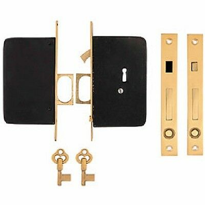 Double Pocket Door Locks
