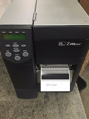 Zebra Industrial Label Printer Z4M00-3001-0000 300Dpi