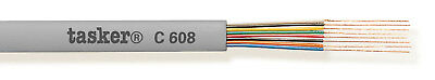 Tasker C608 GRY Telephone cable 8x0,08 mm² 305 m