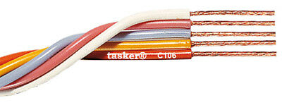Tasker C106 Multicore flexible flat cable 5x0,35 mm² for electronics 100 m