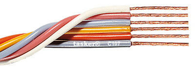 Tasker C107 Multicore flexible flat cable 6x0,35 mm² for electronics 100 m