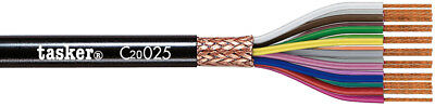 Tasker C20025 Multicore shielded cable 20x0,25 mm² for data transmission 100 m