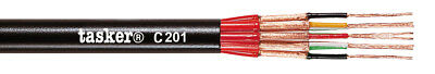 Tasker C201 Multipolar shielded cable 8x0,14 mm² 100 m