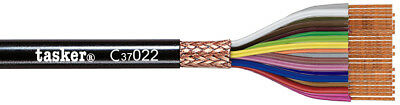 Tasker C37022 Multicore shielded cable 37x0,22 mm² for data transmission 100 m