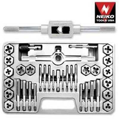 40 PC NEIKO SAE TAP and DIE SET SAE HEXAGON - HIGH ALLOY STEEL - FREE SHIPPING