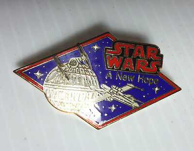 """Vintage Star Wars A New Hope Cloisonne Pin 2.25""""- FREE S&H (SWPI-45)"""