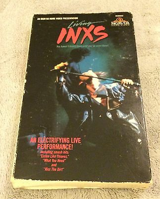 Living INXS VHS Live Concert Video 1985 NTSC