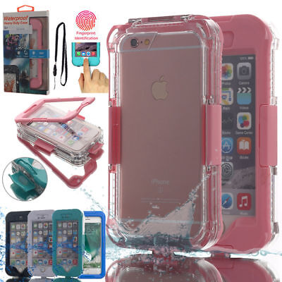 Waterproof Shockproof TPU Dirt Snow Proof Hard Case Cover For iPhone 7 6S 8 Plus