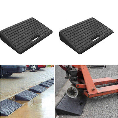 2X Rubber Kerb Portable Ramps for Car Motorbike Vehicle Mobility Disabled Access