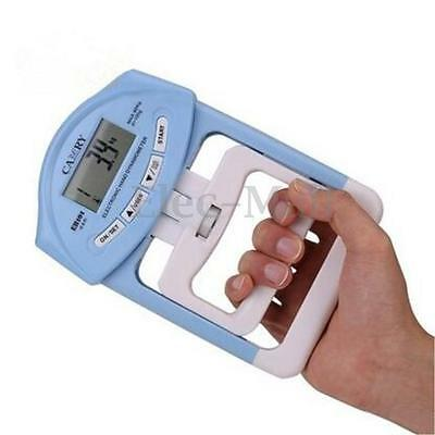 198lb/90kg Electronic Hand Grip Strength Meter Dynamometer Strength Trainer New