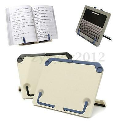 Portable Folding Book Stand Reading Desk Documents Music Score Book Holder UK