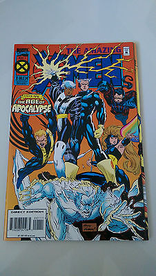 Malibu Marvel Comics 1995 FOXFIRE #1 2 3 4 Complete Limited Series Set Lot Run
