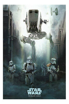 Poster - Star Wars Rogue One Stormtrooper Patrol Official - Size 36 x 24 Inch