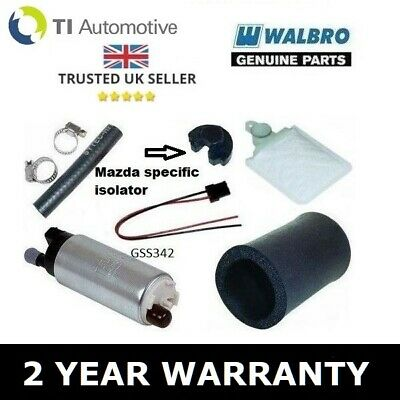 Walbro 255 Lph Fuel Pump Upgrade Kit For Mazda Rx7 Twin Turbo