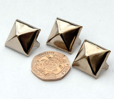 PYRAMID STUDS Large 17mm - BARGAIN 25 Pack