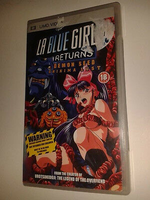 * Sony PSP Film * LA BLUE GIRL RETURNS * UMD