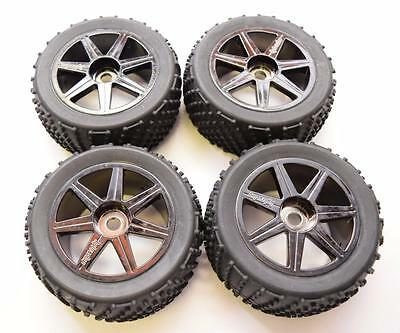 HPI Trophy 4.6 Truggy Wheel And Tyre Set 4 Pack