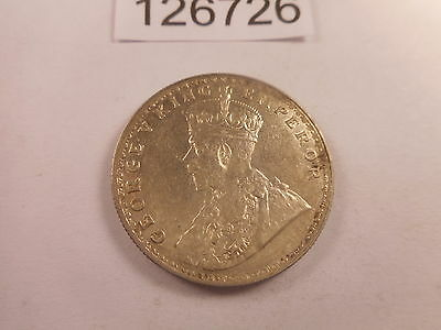 1916 India One Rupee - Nice Collector Coin Higher Grade - # 126725 - Scratches