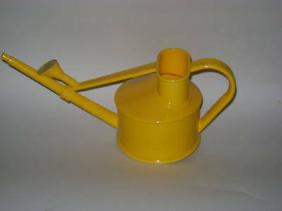 New Haws 700ml Yellow Plastic Indoor Kids Childs Watering Can