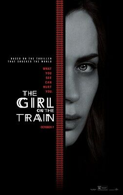 Girl On The Train - original DS movie poster - 27x40 D/S