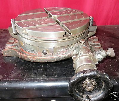 """10"""" rotary table, Made in Japan, PM"""