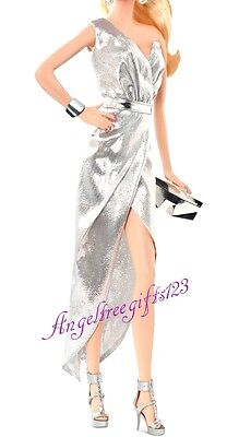 City shine silver the look dress model muse some royalty silkstone barbie