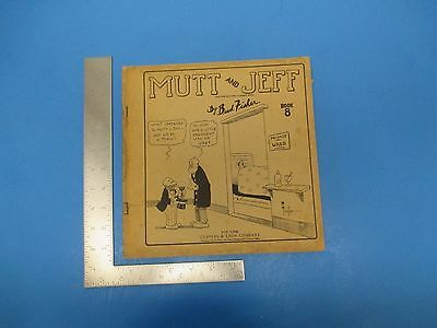 Vintage 1922 Mutt And Jeff Comic Book 8 Bud Fisher Cupples & Leon Company L237