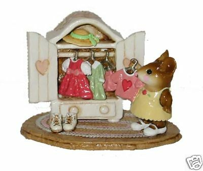 MOLLY'S CHOICE by Wee Forest Folk, WFF# M-257, VALENTINE LTD, Retired 2001