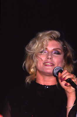 Debbie Deborah Harry Blondie New York Concert 1986 Original 35Mm Slide & Photo