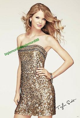 """TAYLOR SWIFT COUNTRY MUSIC STAR POSTER #21 24""""x35"""""""