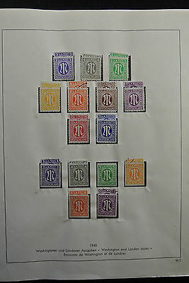 Lot 26292 Collection stamps of German zones and Saar.