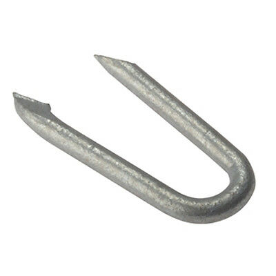 Galvanised Netting Staples 50g Ideal for use with Wire Mesh Trellis in Garden