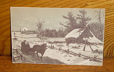 Antique Trade Card - Importer Lorenzo Puccini - Chestnut St Philadelphia